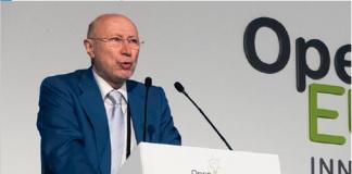 Francisco Marín, Director General del CDTI, durante el acto de apertura de la Open Eureka Innovation Week